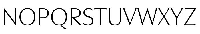 Utile Display Light Font UPPERCASE