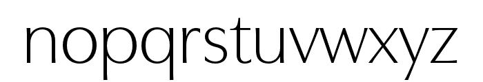 Utile Display Light Font LOWERCASE