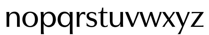 Utile Display Medium Font LOWERCASE