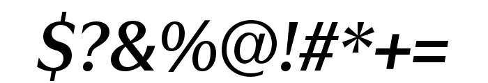 Utile Display Semibold Italic Font OTHER CHARS