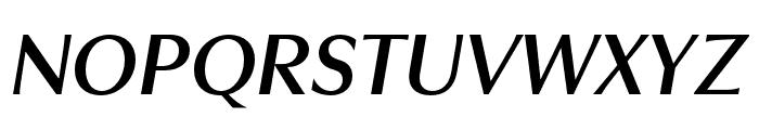 Utile Display Semibold Italic Font UPPERCASE
