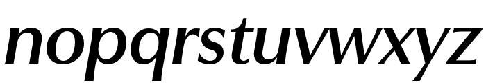 Utile Display Semibold Italic Font LOWERCASE