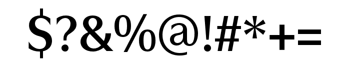 Utile Display Semibold Font OTHER CHARS