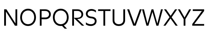 Utile Regular Font UPPERCASE