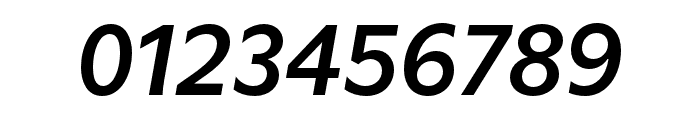 Utile Semibold Italic Font OTHER CHARS