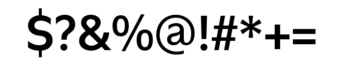 Utile Semibold Font OTHER CHARS