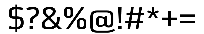 Utility Pro Regular Font OTHER CHARS