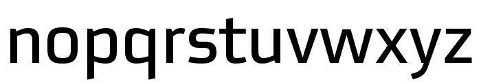 Utility Pro Regular Font LOWERCASE