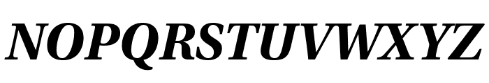 Utopia Std Bold Caption Italic Font UPPERCASE