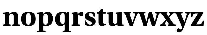 Utopia Std Bold Display Font LOWERCASE