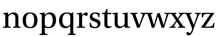Utopia Std Display Font LOWERCASE