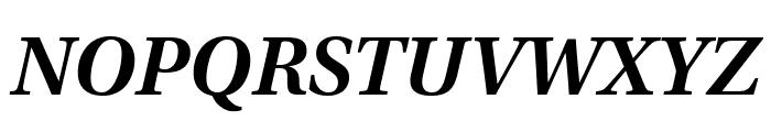 Utopia Std Semibold Caption Italic Font UPPERCASE