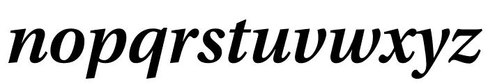 Utopia Std Semibold Caption Italic Font LOWERCASE