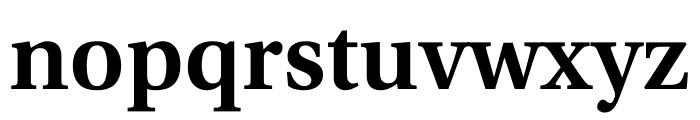 Utopia Std Semibold Subhead Font LOWERCASE