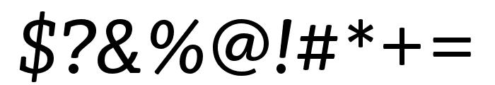 Vaccine Italic Regular Font OTHER CHARS