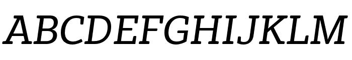 Vaccine Italic Regular Font UPPERCASE