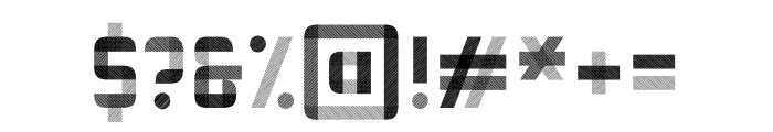 Vektra Regular Font OTHER CHARS