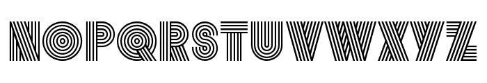 Vibro Regular Font UPPERCASE
