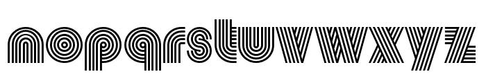 Vibro Regular Font LOWERCASE