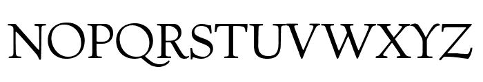 Village Titling Regular Font UPPERCASE