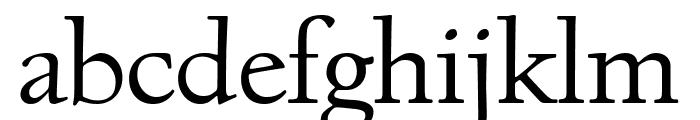 Village Titling Regular Font LOWERCASE