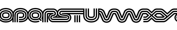 Virna Regular Font UPPERCASE