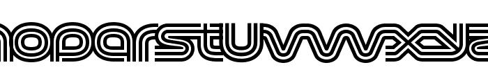 Virna Regular Font LOWERCASE