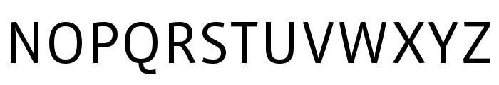 Vista Sans Nar OTCE Book Font UPPERCASE