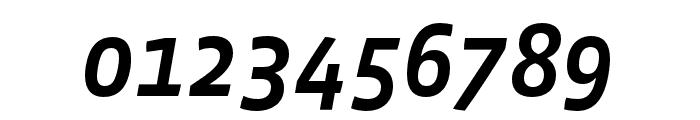 Vista Sans Nar OTCE Medium Italic Font OTHER CHARS