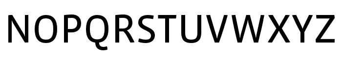 Vista Sans Nar OTCE Reg Font UPPERCASE