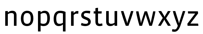 Vista Sans Nar OTCE Reg Font LOWERCASE