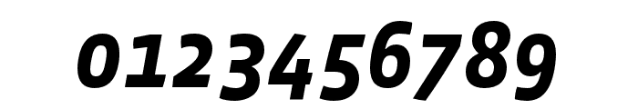 Vista Sans OTCE Bold Italic Font OTHER CHARS