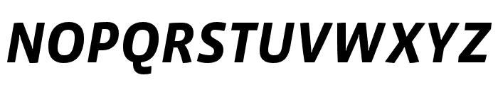 Vista Sans OTCE Bold Italic Font UPPERCASE