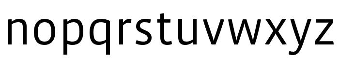 Vista Sans OTCE Book Font LOWERCASE