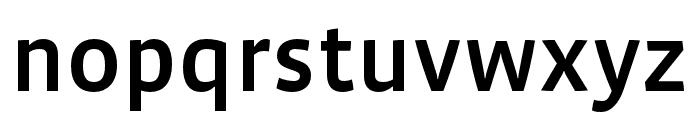 Vista Sans OTCE Medium Font LOWERCASE