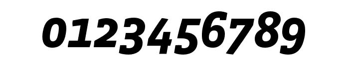 Vista Slab OTCE Bold Italic Font OTHER CHARS