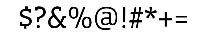Vista Slab OTCE Book Font OTHER CHARS