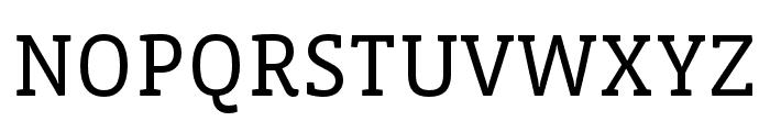 Vista Slab OTCE Book Font UPPERCASE