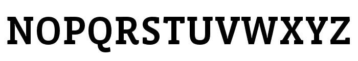 Vista Slab OTCE Medium Font UPPERCASE