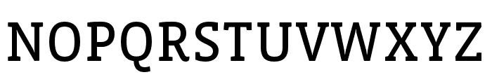 Vista Slab OTCE Reg Font UPPERCASE