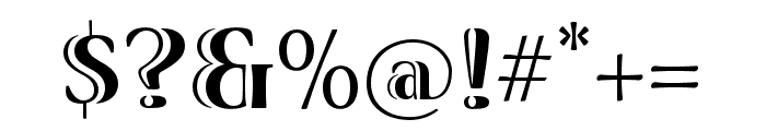 Viva Std Bold ExtraExtended Font OTHER CHARS