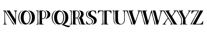 Viva Std Bold ExtraExtended Font UPPERCASE