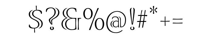 Viva Std Light ExtraExtended Font OTHER CHARS
