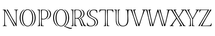 Viva Std Light ExtraExtended Font UPPERCASE
