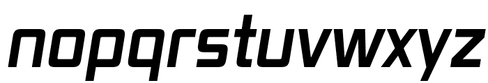 Vox Bold Italic Font LOWERCASE