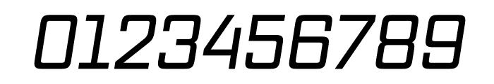 Vox Medium Italic Font OTHER CHARS