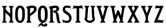 WTR Roycroft Regular Font UPPERCASE