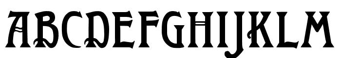 WTR Roycroft Regular Font LOWERCASE