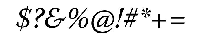 Warnock Pro Italic Caption Font OTHER CHARS