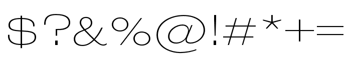 Wedding Gothic ATF ExLight Font OTHER CHARS